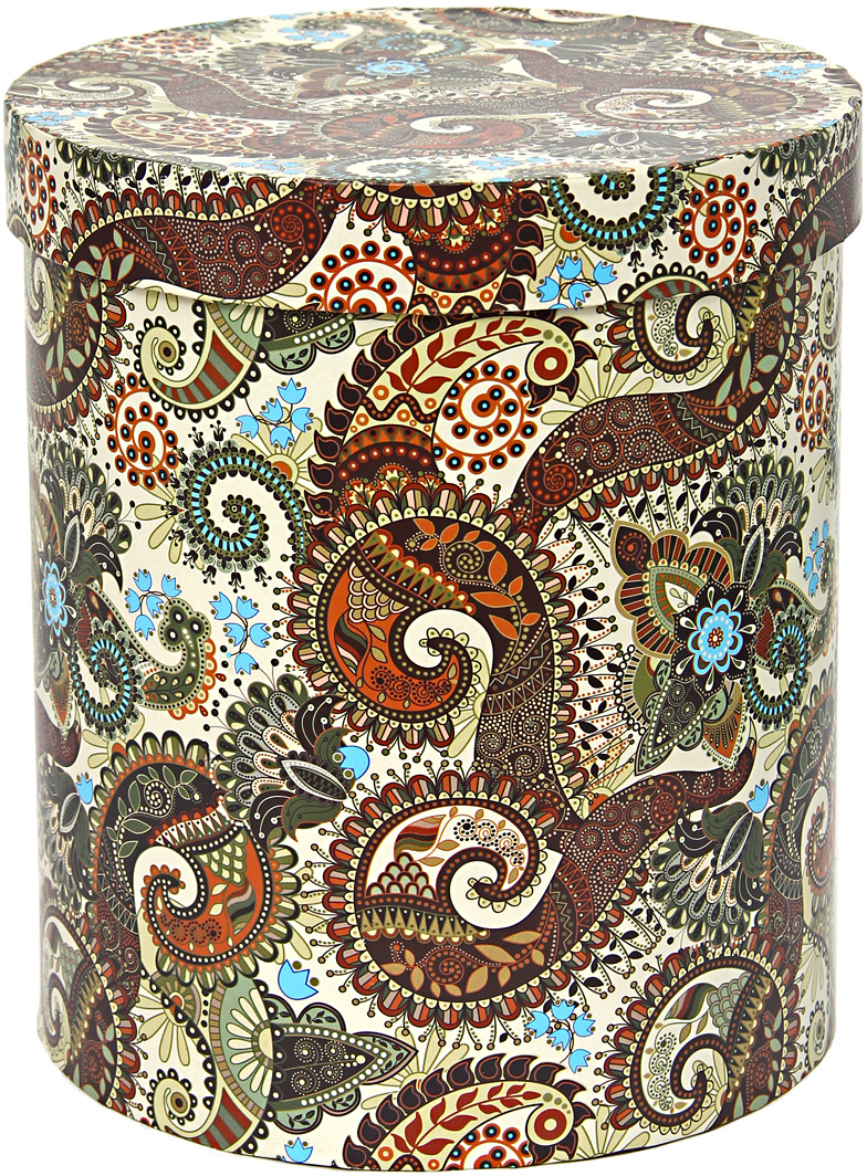 Коробка подарочная Veld-Co Цилиндр, для цветов, 17 х 17 х 20 см. 51403 аксессуары veld co набор переводных татуировок черепа