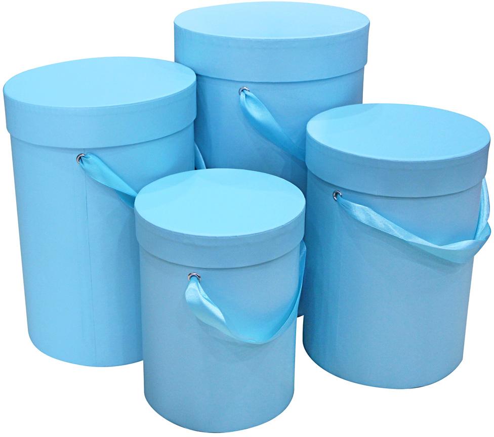 Набор подарочных коробок Veld-Co Нежно-голубой, 4 шт veld co набор инструментов 43896