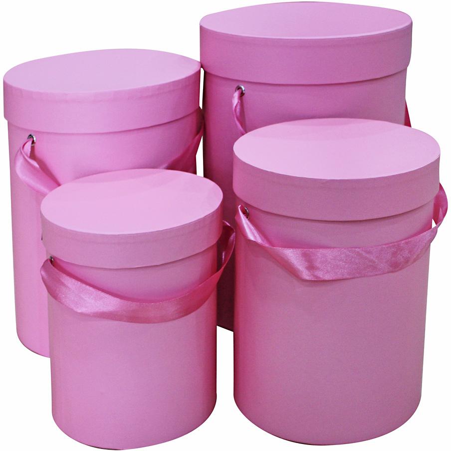 Набор подарочных коробок Veld-Co Пудрово-розовый, 4 шт набор подарочных коробок veld co миром правит доброта 15 шт