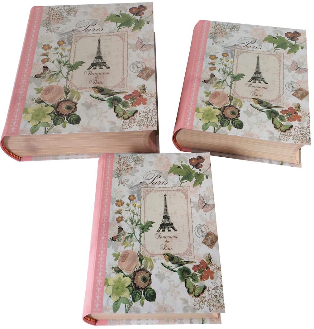 Набор подарочных коробок Veld-Co Романтичный Париж, 3 шт набор подарочных коробок veld co шоколад с магнитами цвет светло коричневый 3 шт