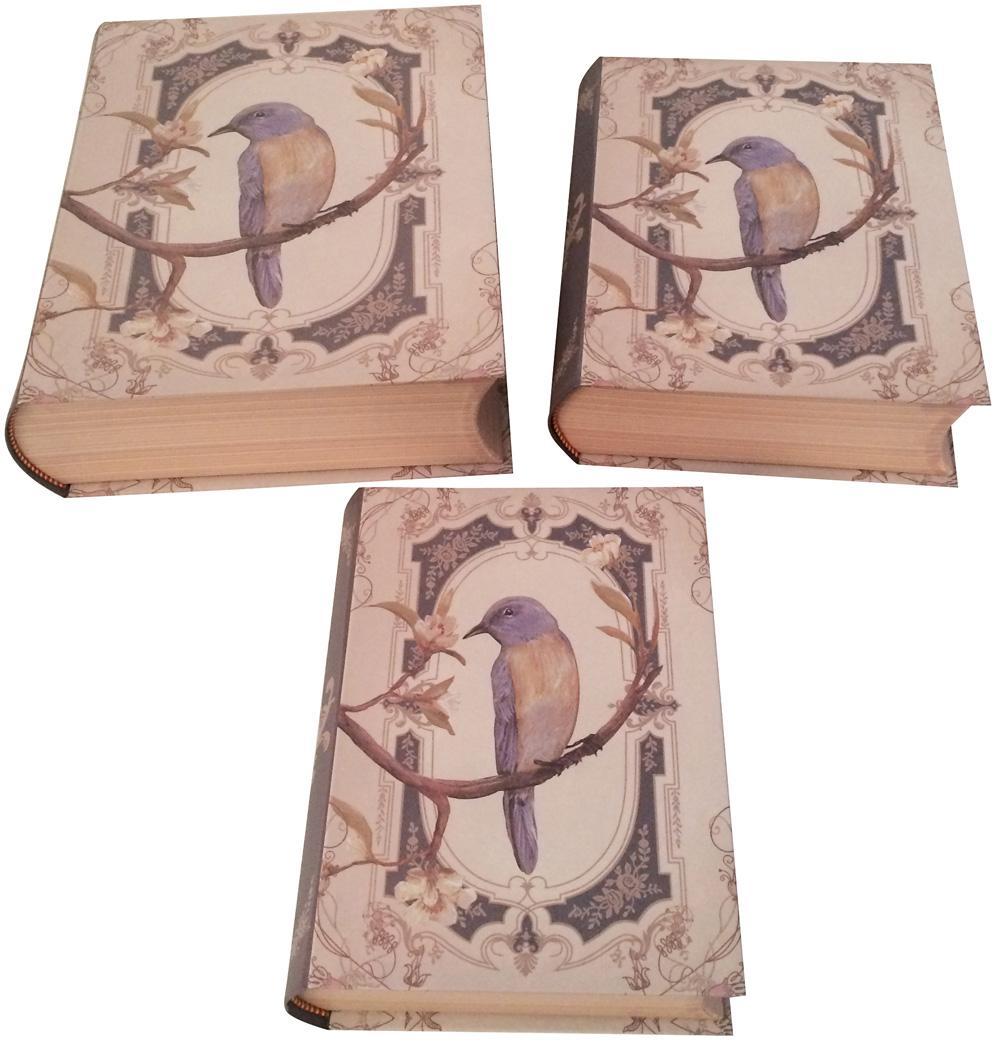 Набор подарочных коробок Veld-Co Птица счастья, 3 шт набор подарочных коробок veld co миром правит доброта 15 шт