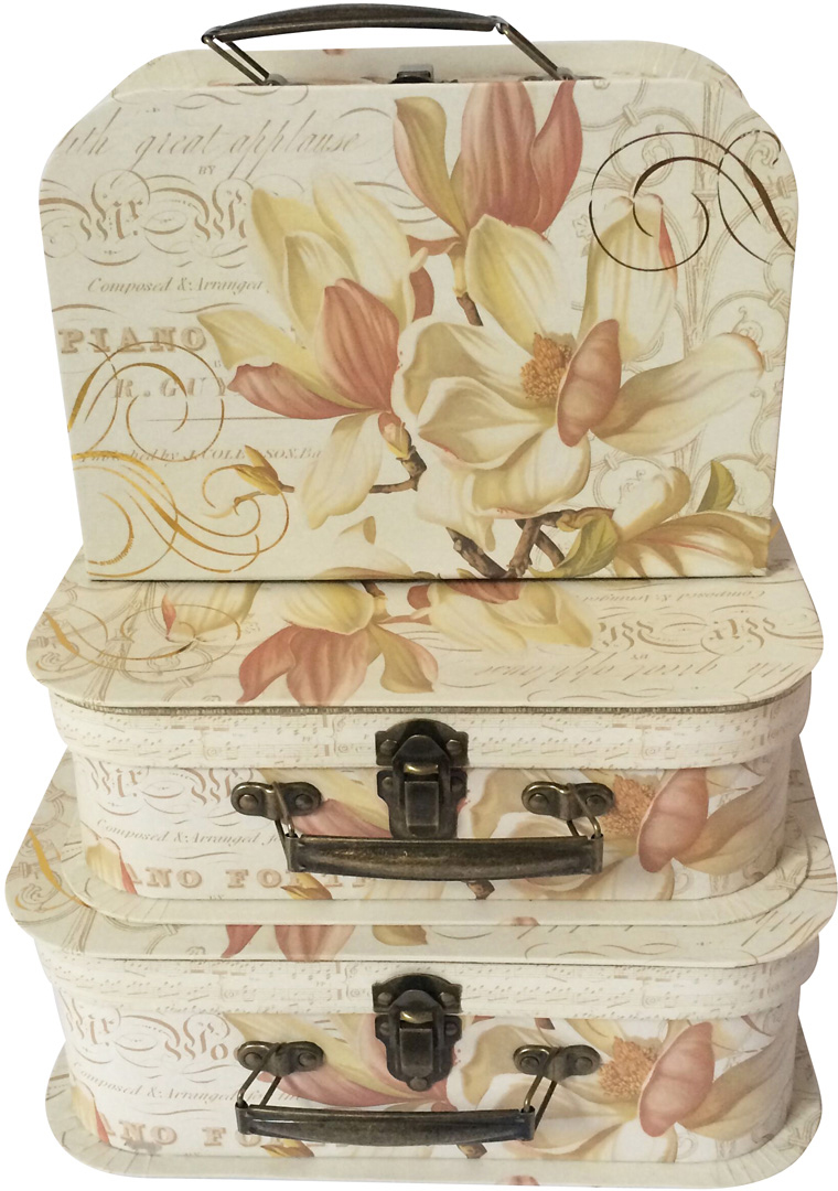 Набор подарочных коробок Veld-Co Изысканные лилии, 3 шт набор подарочных коробок veld co шоколад с магнитами цвет светло коричневый 3 шт