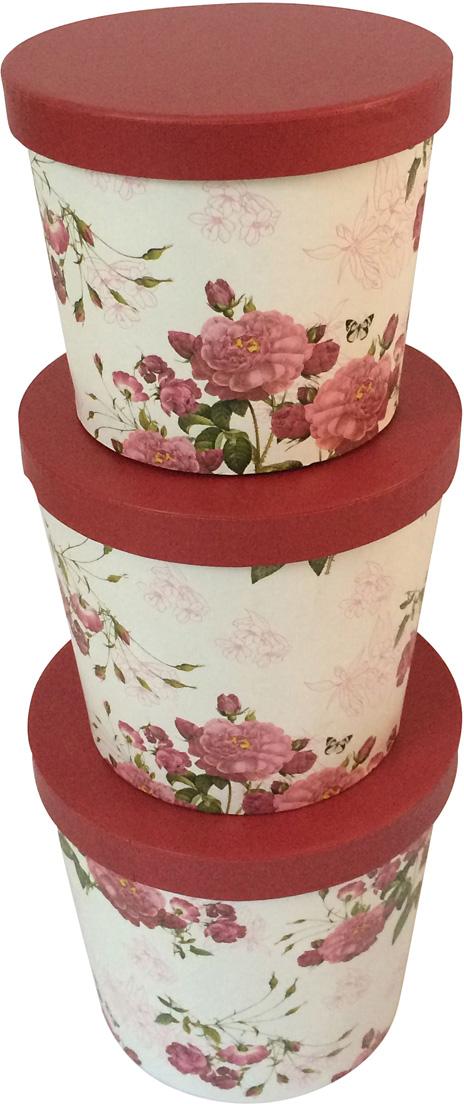 Набор подарочных коробок Veld-Co Красные, 3 шт набор подарочных коробок veld co шоколад с магнитами цвет светло коричневый 3 шт