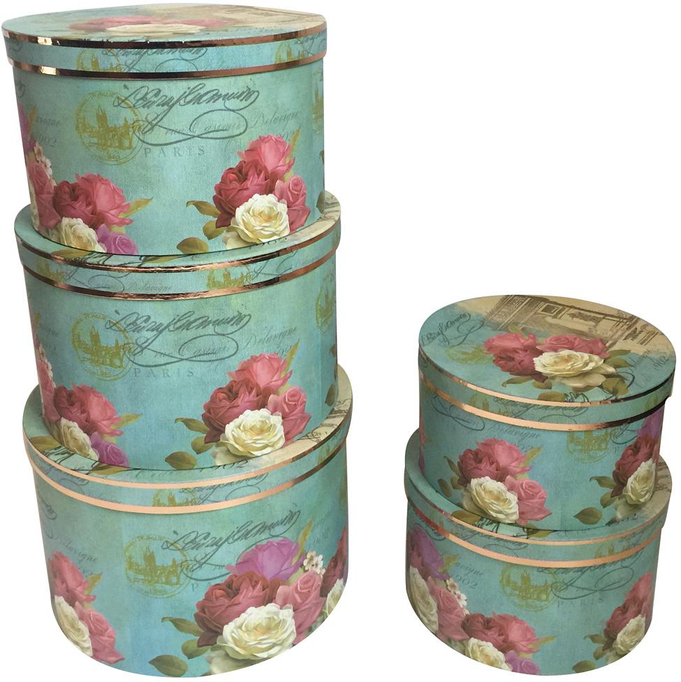 Набор подарочных коробок Veld-Co  Цветочный каприз , 5 шт -  Подарочная упаковка