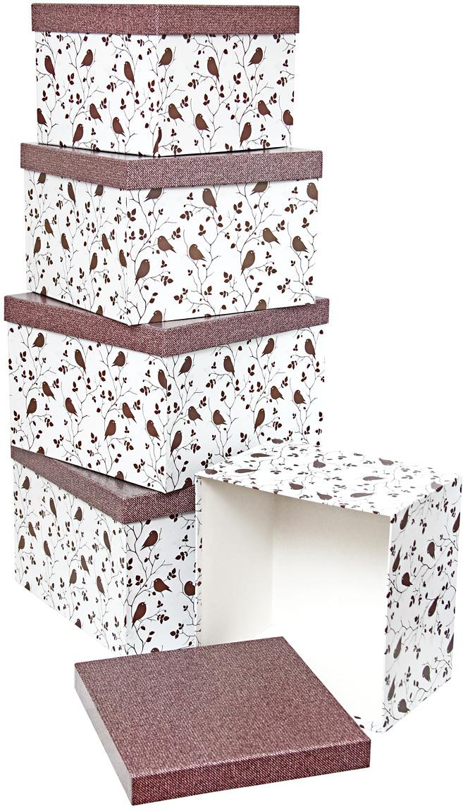 Набор подарочных коробок Veld-Co Перец чили и красные ромбы, кубы, большие, 5 шт56304Подарочные коробки Veld-Co - это наилучшее решение, если выхотите порадовать ваших близких и создать праздничное настроение, ведь подарок, преподнесенный в оригинальной упаковке, всегда будет самым эффектным и запоминающимся. Окружите близких людей вниманием и заботой, вручив презент в нарядном, праздничном оформлении.