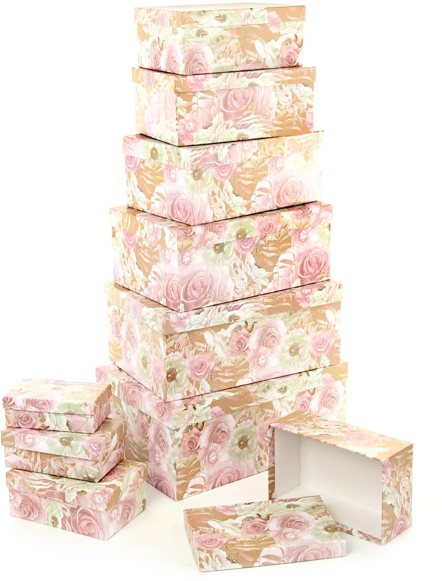 Набор подарочных коробок Veld-Co Эльфийский сад, прямоугольные, 10 шт набор подарочных коробок veld co морская тематика прямоугольные 5 шт