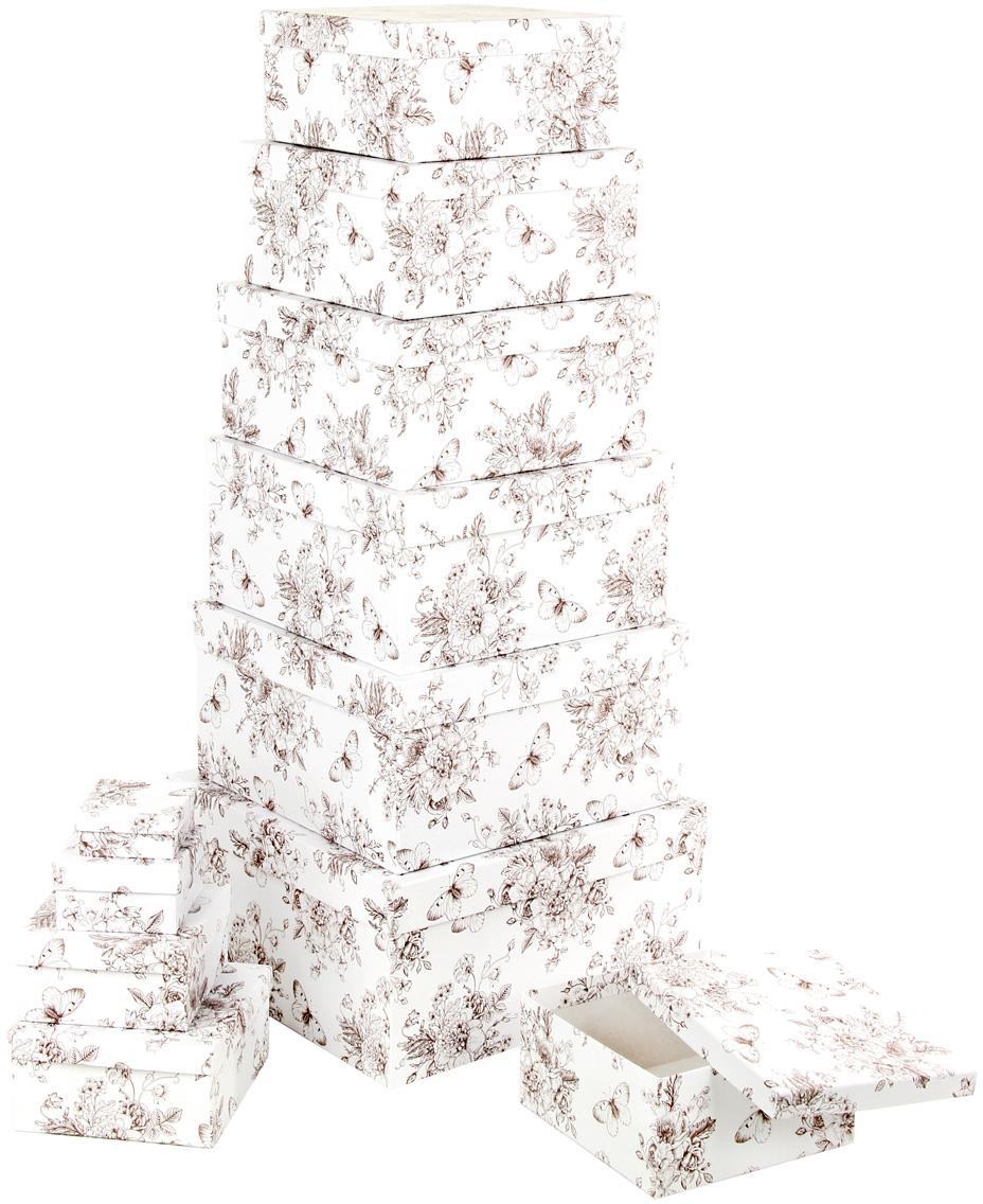 Набор подарочных коробок Veld-Co Мадам Баттерфляй, 11 шт набор подарочных коробок veld co мадам баттерфляй 10 шт