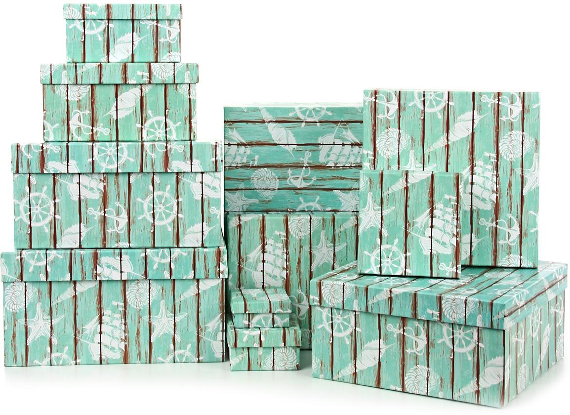 Набор подарочных коробок Veld-Co  Грезы путешественника , 11 шт -  Подарочная упаковка