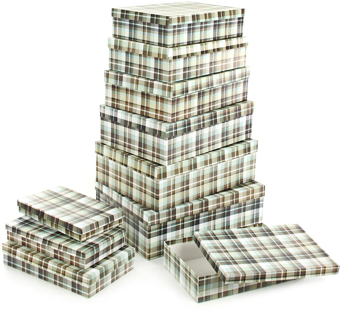Набор подарочных коробок Veld-Co  Уютный плед , 10 шт -  Подарочная упаковка