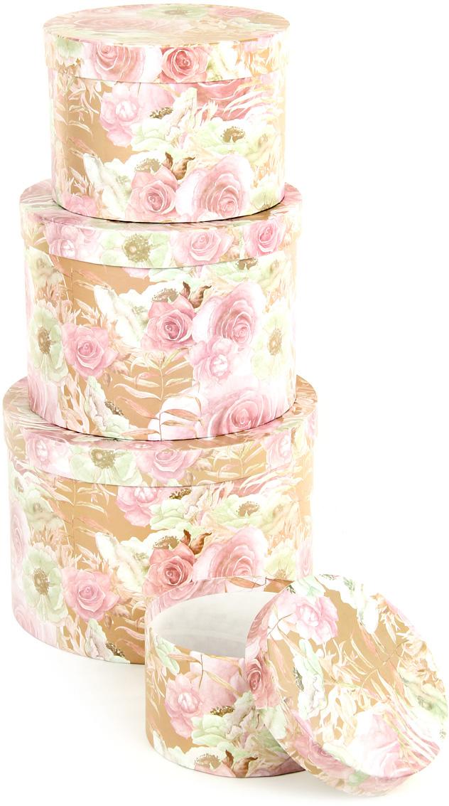 Набор подарочных коробок Veld-Co Эльфийский сад, круглые, 4 шт набор подарочных коробок veld co небесные музыканты круглые 4 шт