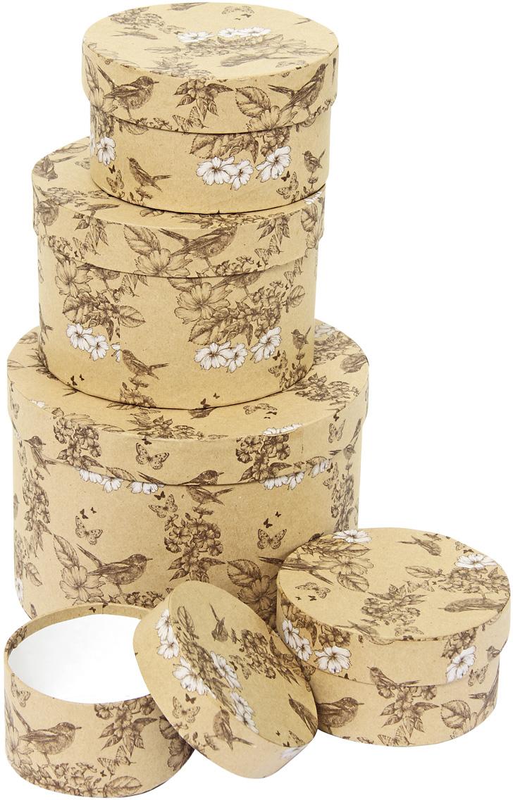 Набор подарочных коробок Veld-Co Гимн весне, круглые, 5 шт. 57601 набор подарочных коробок veld co цветение дикой сливы круглые 5 шт 67674