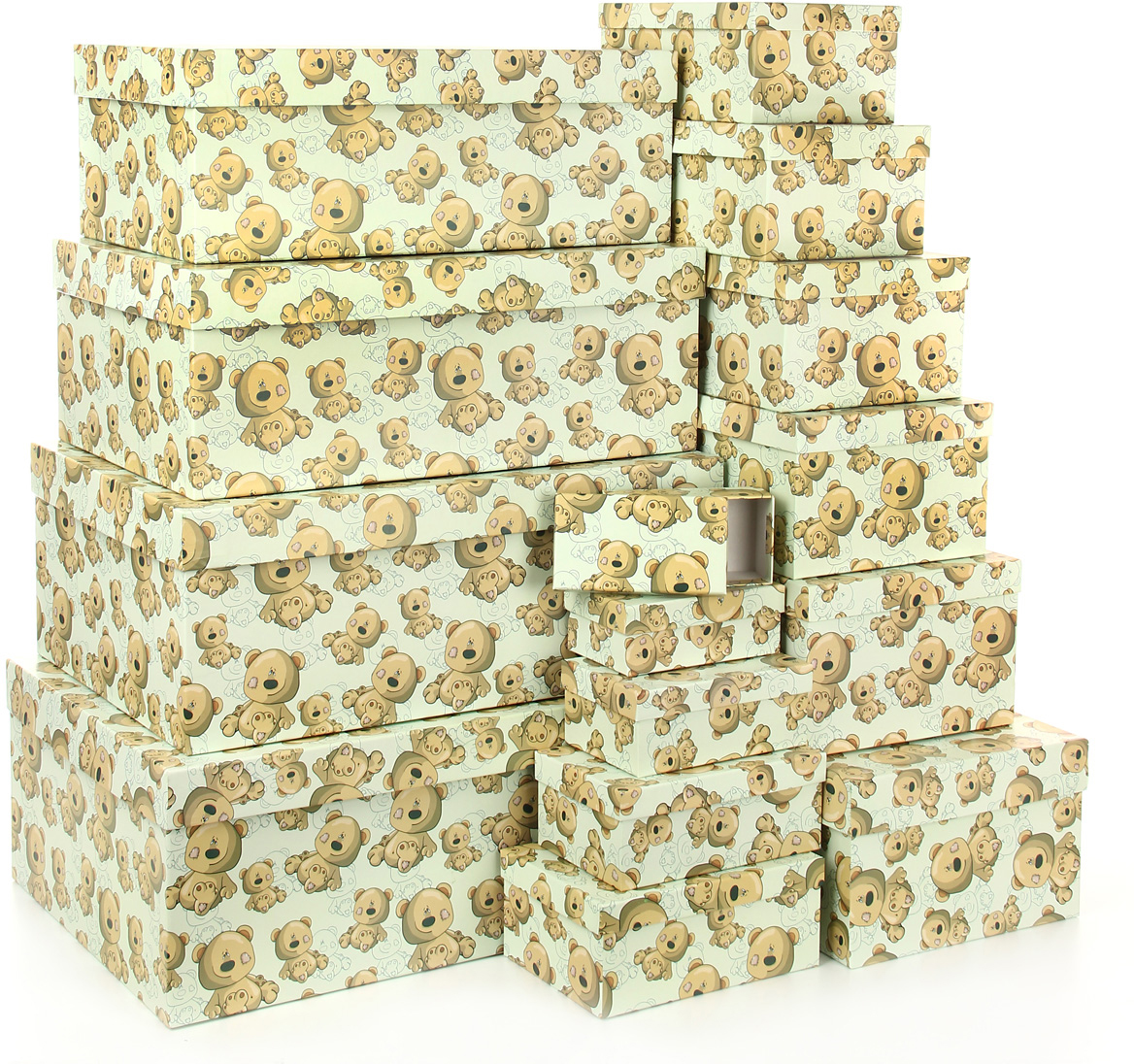 Набор подарочных коробок Veld-Co Плюшевый улыбака, 15 шт набор подарочных коробок veld co миром правит доброта 15 шт