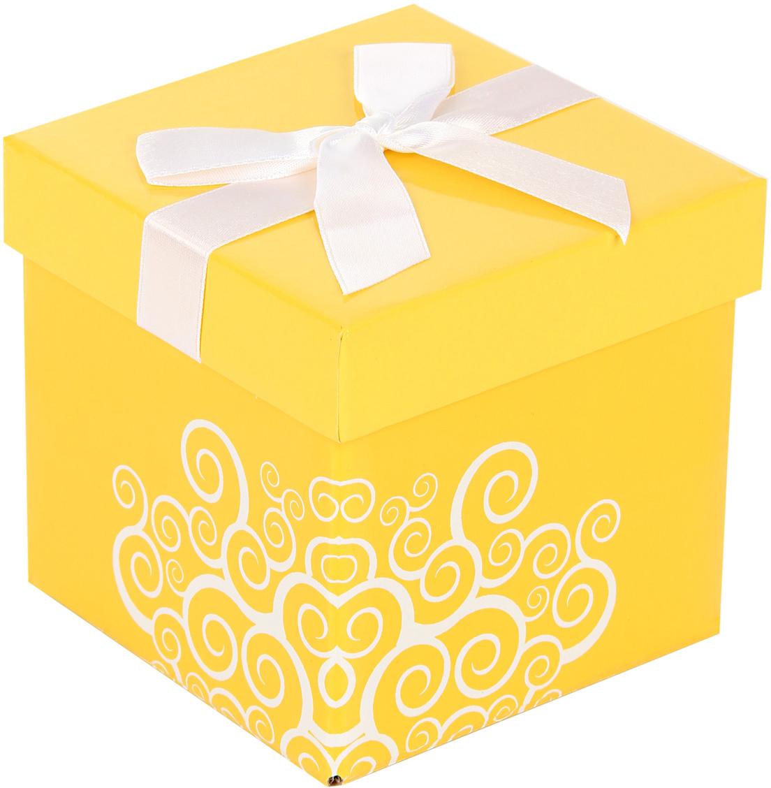 Коробка подарочная Veld-Co Giftbox. Трансформер. Солнечное настроение, цвет: оранжевый, 10,3 х 10,3 х 9,8 см59386Подарочная коробка Veld-Co - это наилучшее решение, если выхотите порадовать ваших близких и создать праздничное настроение, ведь подарок, преподнесенный в оригинальной упаковке, всегда будет самым эффектным и запоминающимся. Окружите близких людей вниманием и заботой, вручив презент в нарядном, праздничном оформлении.