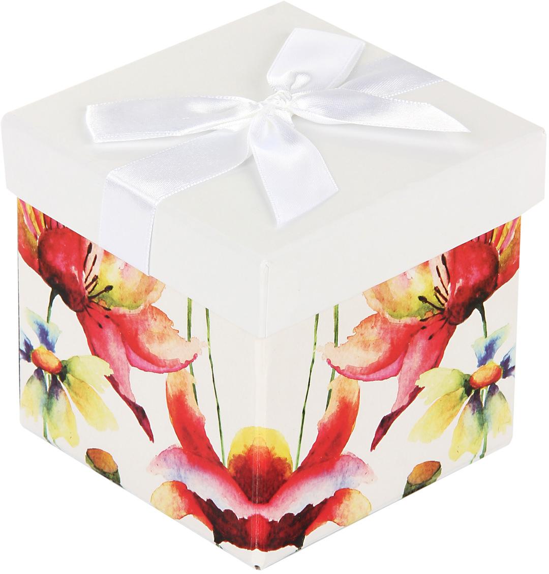 Коробка подарочная Veld-Co Giftbox. Трансформер. Нежные цветы, цвет: белый, 10,3 х 10,3 х 9,8 см59389Подарочная коробка Veld-Co - это наилучшее решение, если выхотите порадовать ваших близких и создать праздничное настроение, ведь подарок, преподнесенный в оригинальной упаковке, всегда будет самым эффектным и запоминающимся. Окружите близких людей вниманием и заботой, вручив презент в нарядном, праздничном оформлении.