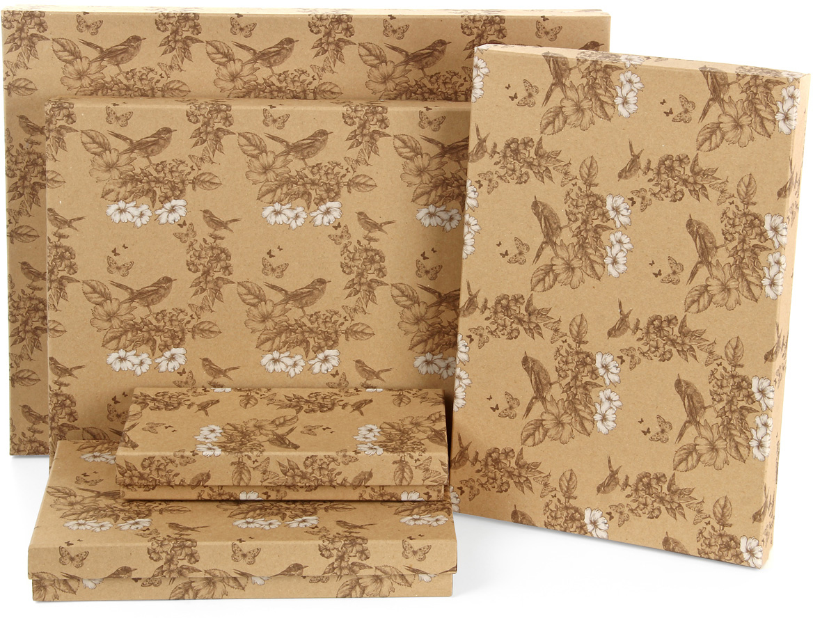 Набор подарочных коробок Veld-Co Гимн весне, 5 шт. 59522 набор подарочных коробок veld co мишки малышки 4 шт