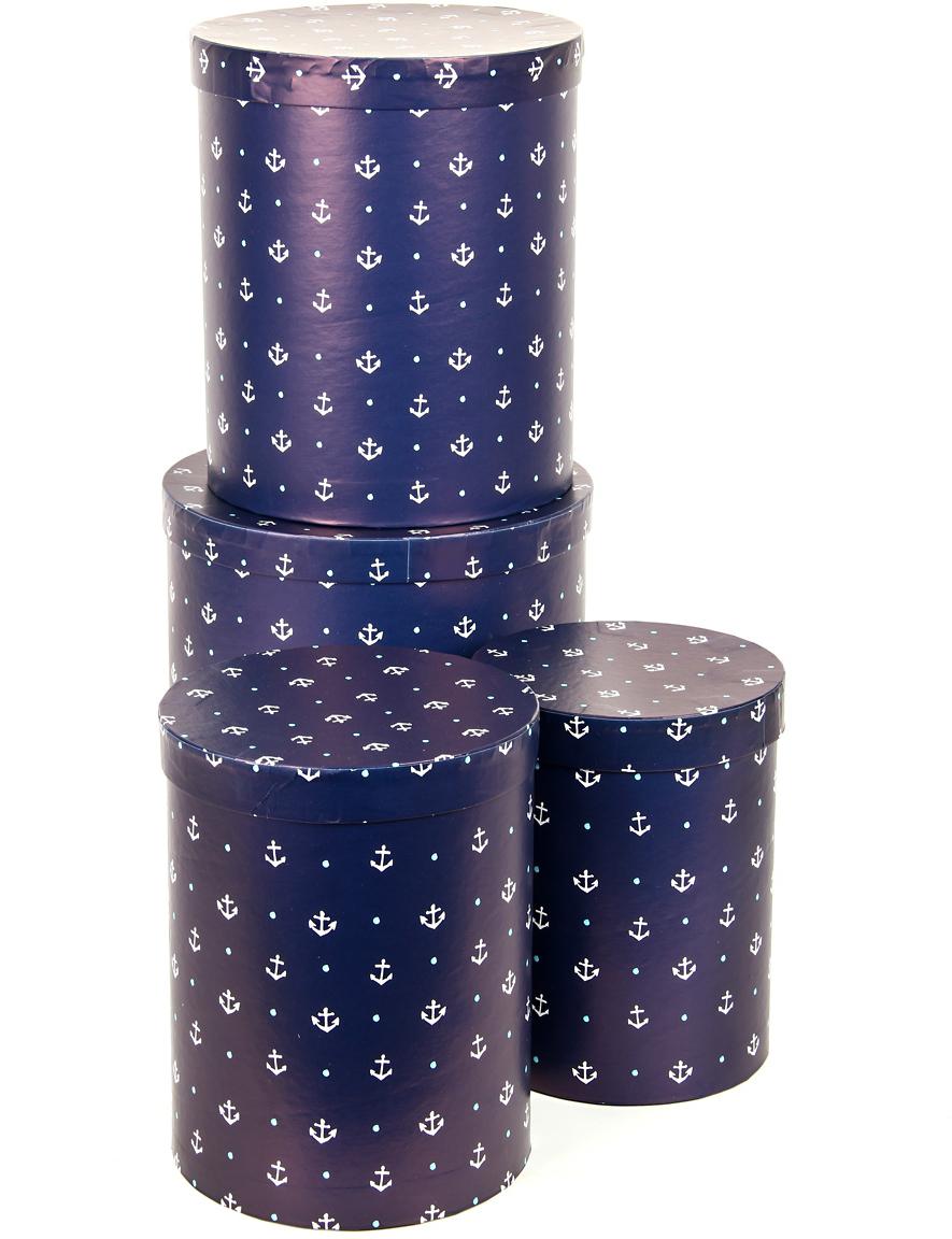 Набор подарочных коробок Veld-Co Отдать якоря, 4 шт набор подарочных коробок veld co небесные музыканты круглые 4 шт