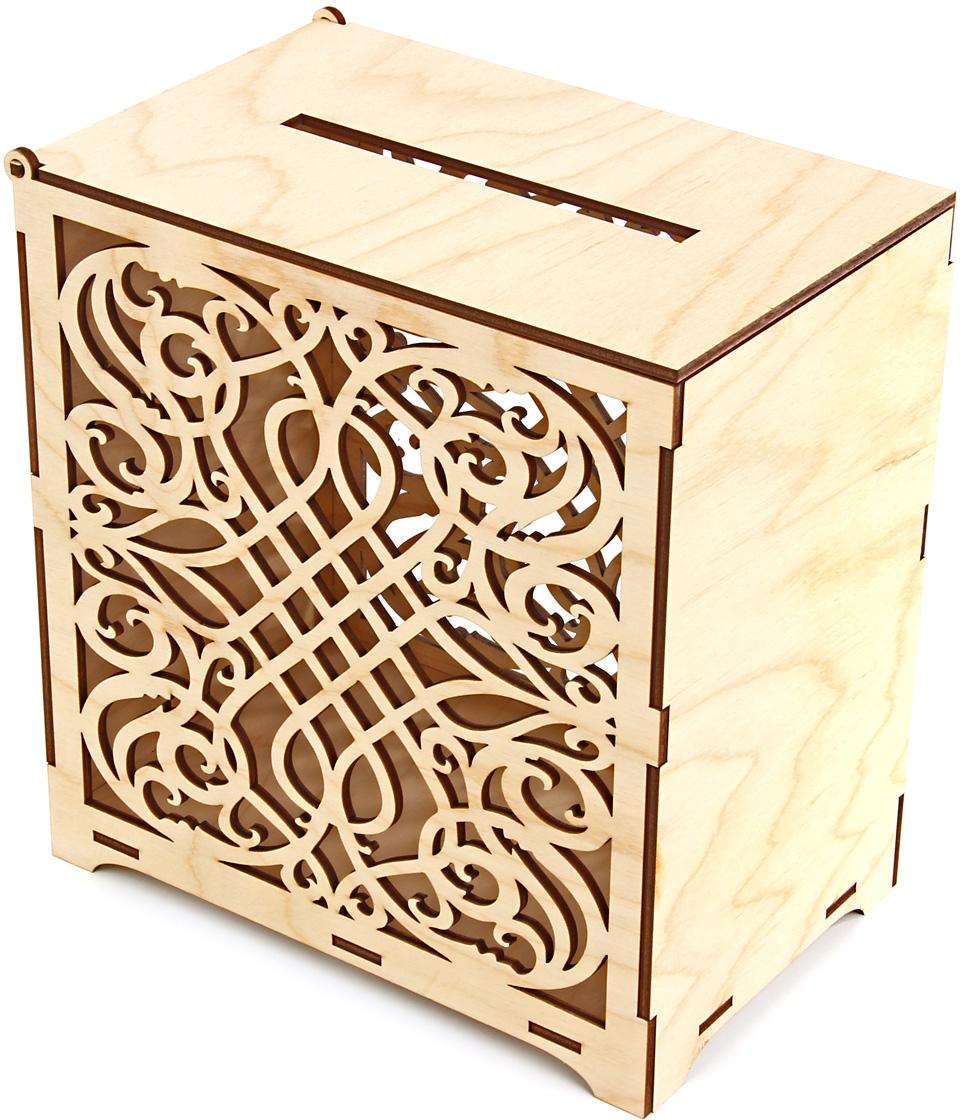 Коробка подарочная Veld-Co Свадебная казна, цвет: слоновая кость, 22 х 23 х 14 см60205Подарочная коробка Veld-Co - это наилучшее решение, если выхотите порадовать ваших близких и создать праздничное настроение, ведь подарок, преподнесенный в оригинальной упаковке, всегда будет самым эффектным и запоминающимся. Окружите близких людей вниманием и заботой, вручив презент в нарядном, праздничном оформлении.