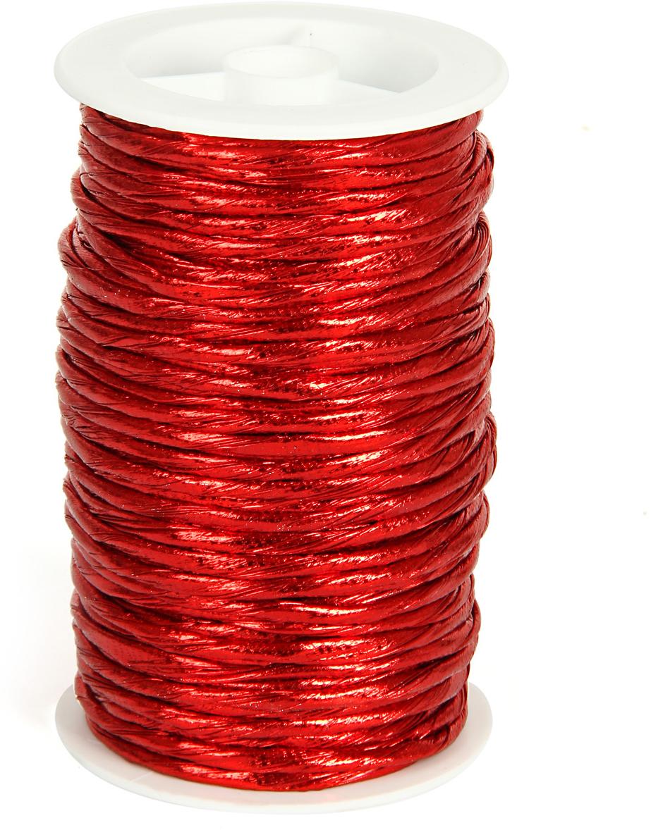 Шнур декоративный Veld-Co, цвет: красный, 3 мм х 20 м64653Декоративный шнур Veld-Co изготовлен из ПВХ. Его можно использовать для творчества в различных техниках,таких как скрапбукинг, оформление аппликаций, для украшения фотоальбомов,подарков и многого другого.Толщина шнура: 3 мм.Длина шнура: 20 м.