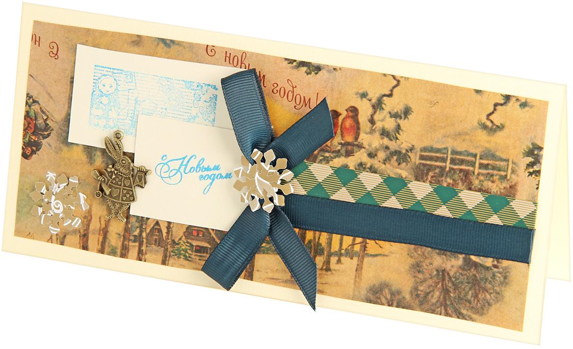 Открытка объемная Veld-Co Волшебный зайка, 21 х 10 см открытка хочун именинник 10 х 15 см