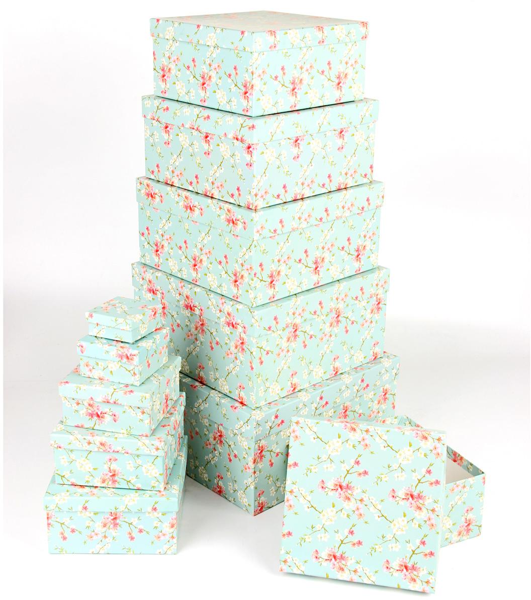 Набор подарочных коробок Veld-Co Цветение дикой сливы, 11 шт набор подарочных коробок veld co цветение дикой сливы круглые 5 шт 67674