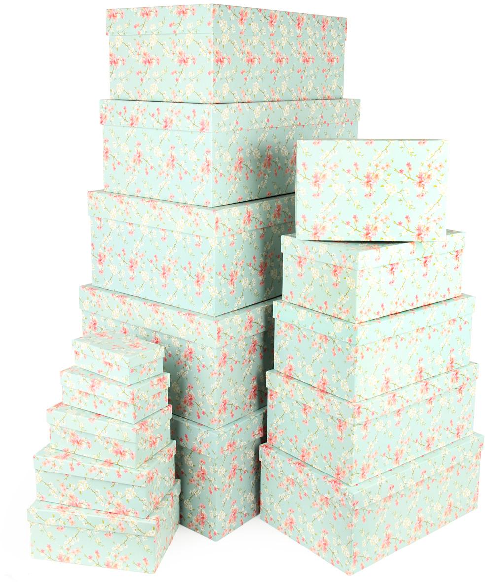 Набор подарочных коробок Veld-Co Цветение дикой сливы, 15 шт набор подарочных коробок veld co цветение дикой сливы круглые 5 шт 67674