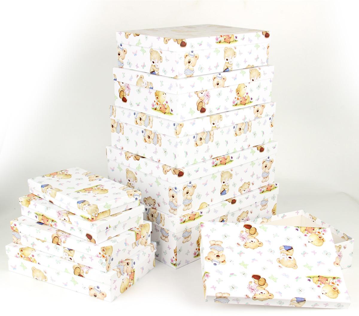 Набор подарочных коробок Veld-Co Миром правит доброта, 10 шт veld co набор инструментов 43896