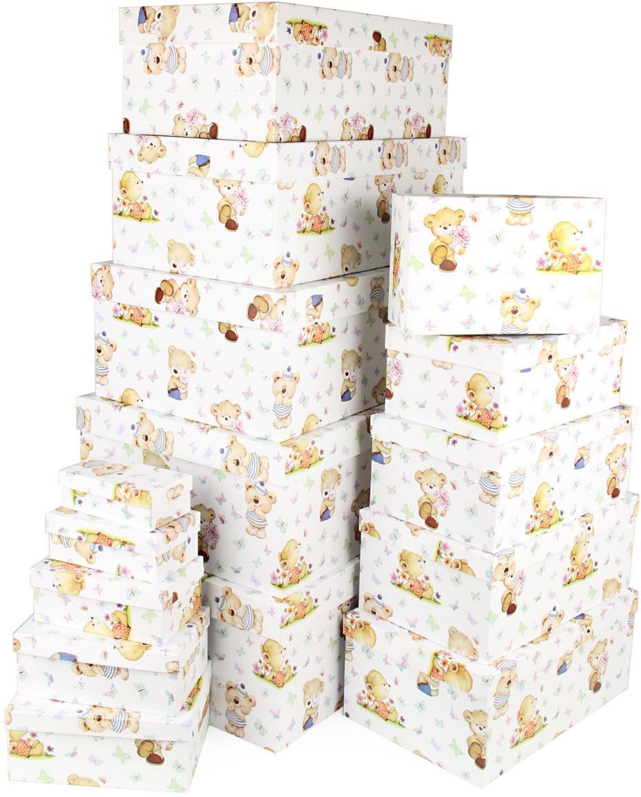 Набор подарочных коробок Veld-Co Миром правит доброта, 15 шт набор подарочных коробок veld co мишки малышки 4 шт