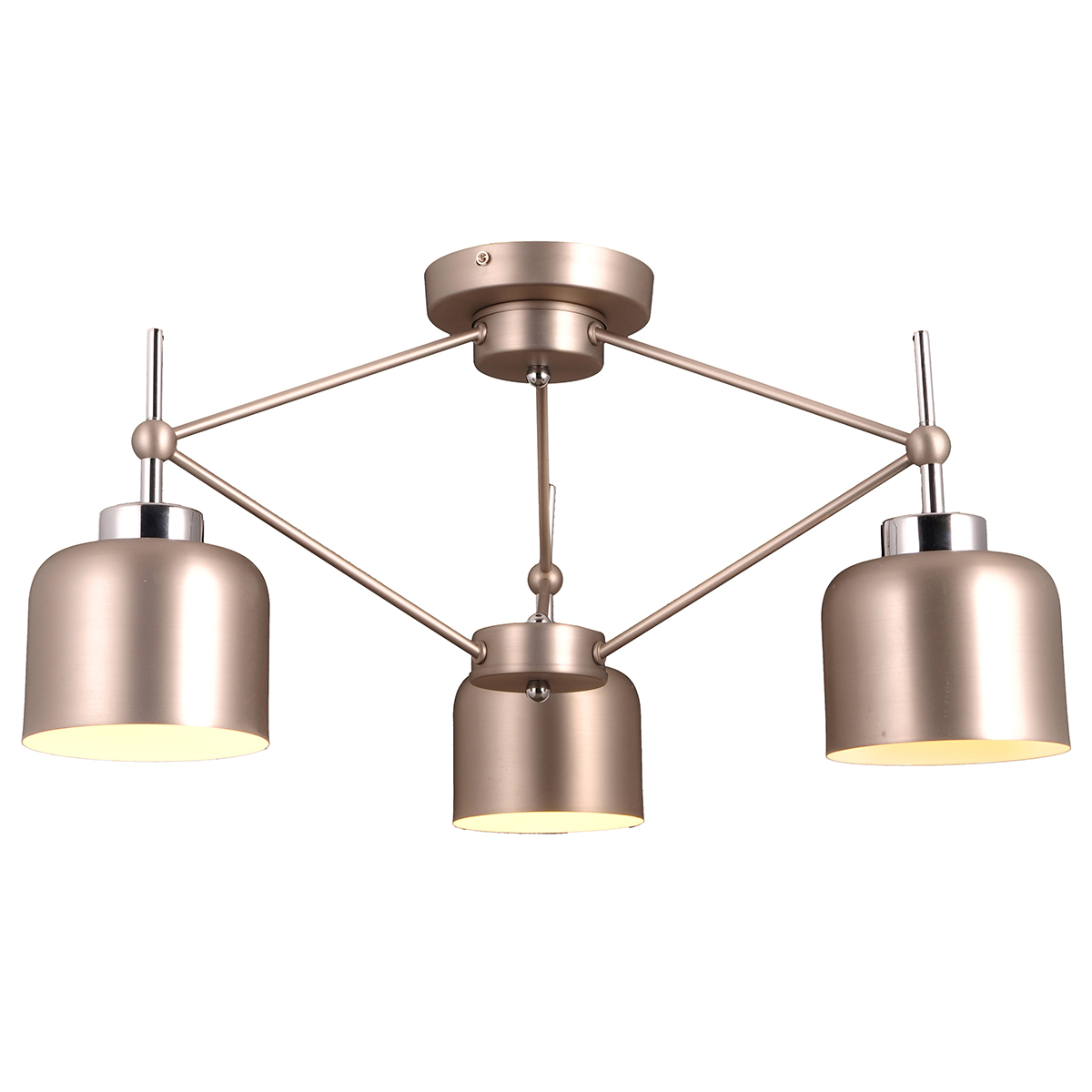 Стиль модерн характеризуется изогнутыми, несимметричными и грациозными линиями. Очень стильно данные светильники смотрятся в интерьере, в основе которых лежат нестандартные решения.  Если Вы любитель всего оригинального, нового, неизбитого, то светильники коллекции Natali Kovaltseva направления МОДЕРН – это Ваш выбор! Размеры: D70 x H31 cm