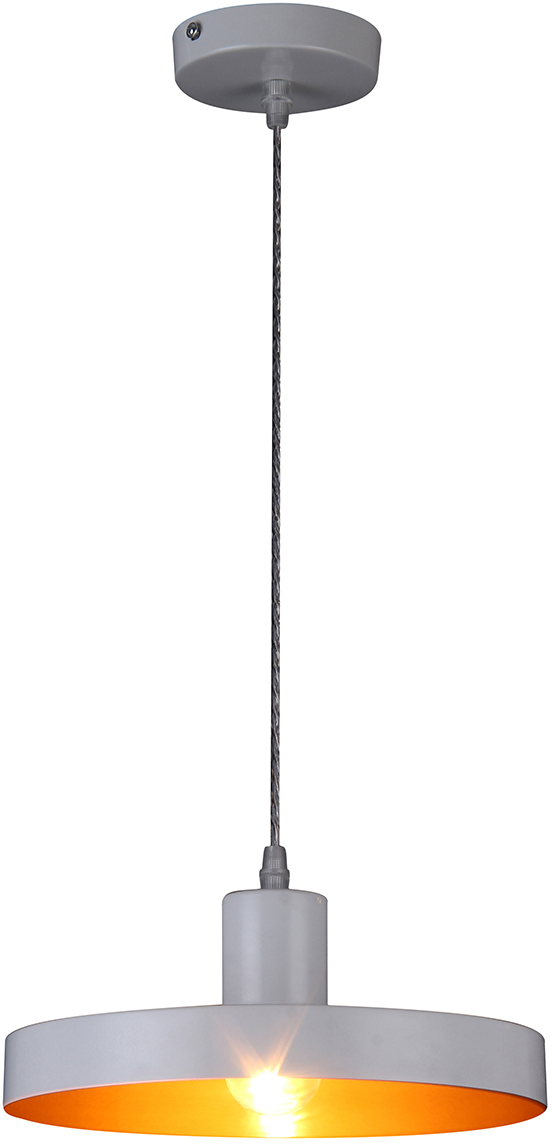 Потолочный светильник-подвес Natali Kovaltseva  Модерн , 1 х E27, 40W. LOFT LUX 77016-1P WHITE -  Светильники