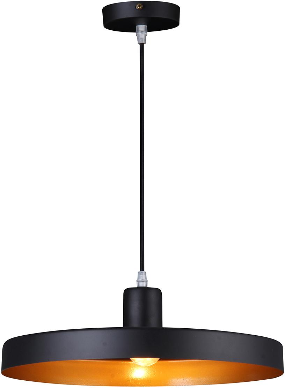 Потолочный светильник-подвес Natali Kovaltseva  Модерн , 1 х E27, 40W. LOFT LUX 77016A-1P BLACK -  Светильники