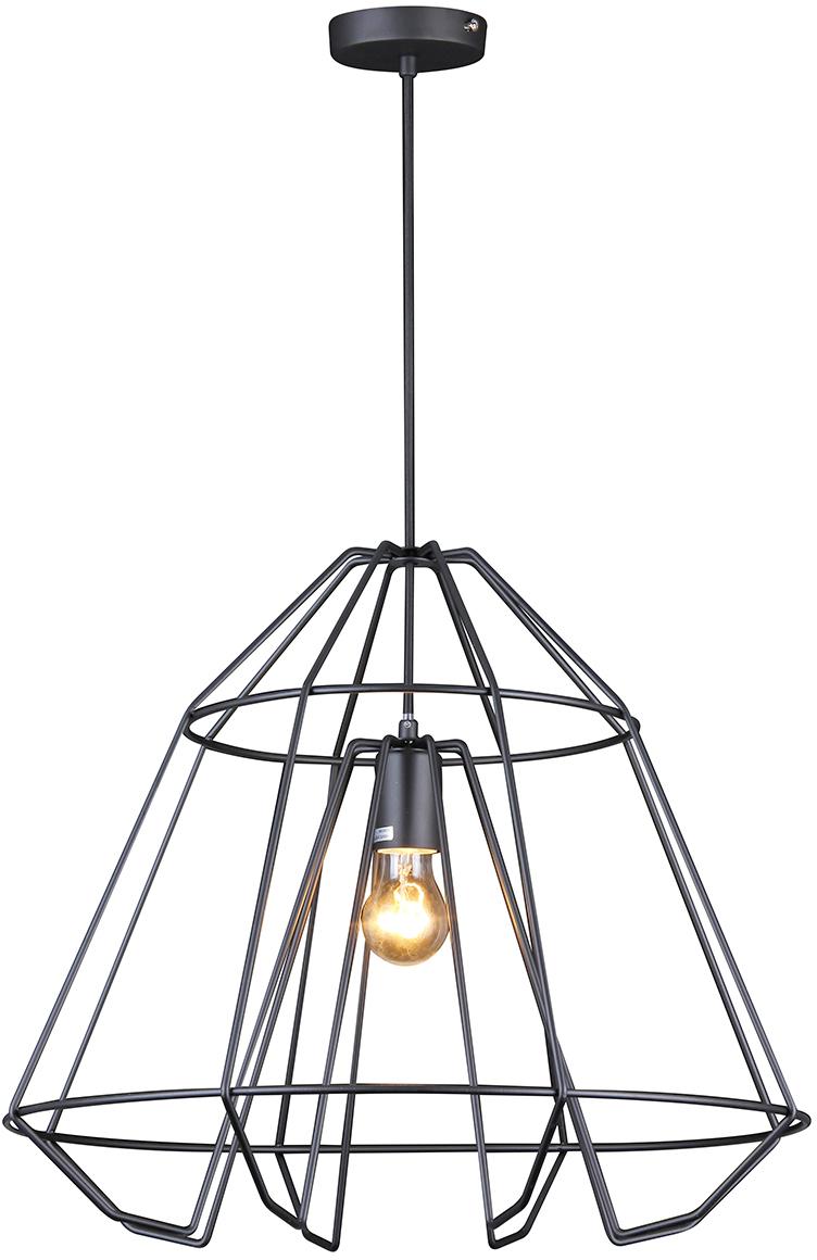 Потолочный светильник-подвесNatali Kovaltseva Модерн, 1 х E27, 40W. LOFT LUX 77027-1P BLACK