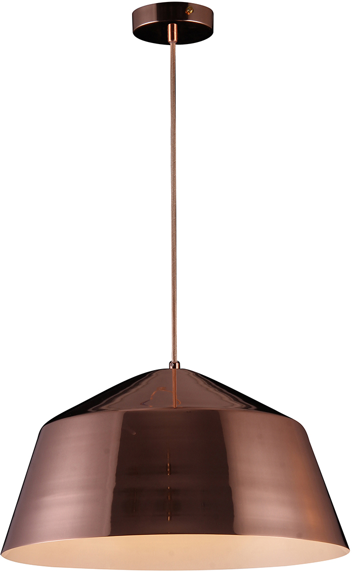 Потолочный светильник-подвесNatali Kovaltseva Модерн, 1 х E27, 40W. MINIMAL ART 77001A-1P ROSE GOLD
