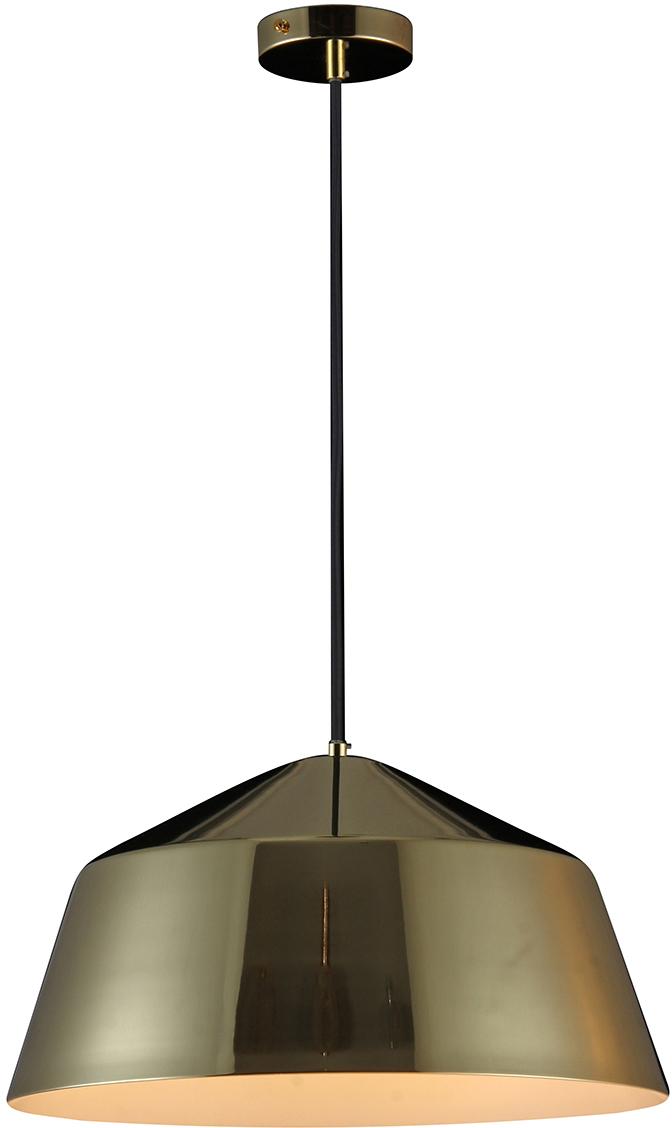 Потолочный светильник-подвесNatali Kovaltseva Модерн, 1 х E27, 40W. MINIMAL ART 77002A-1P GOLD