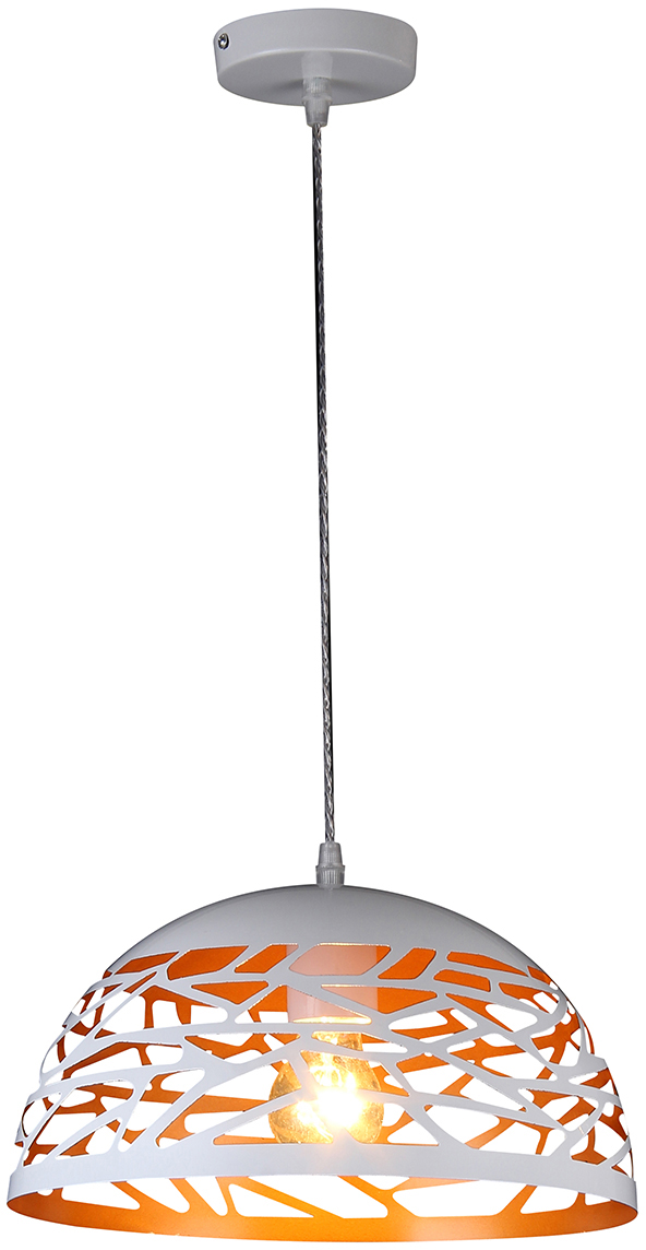 Потолочный светильник-подвесNatali Kovaltseva Модерн, 1 х E27, 40W. MINIMAL ART 77018-1P WHITE