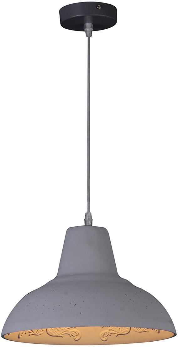 Потолочный светильник-подвесNatali Kovaltseva Модерн, 1 х E27, 40W. MINIMAL ART 77021-1P GRAY