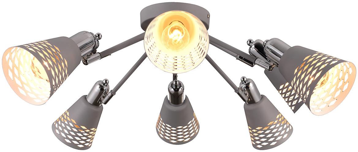 Стиль модерн характеризуется изогнутыми, несимметричными и грациозными линиями. Очень стильно данные светильники смотрятся в интерьере, в основе которых лежат нестандартные решения.  Если Вы любитель всего оригинального, нового, неизбитого, то светильники коллекции Natali Kovaltseva направления МОДЕРН – это Ваш выбор! Размеры: D68 x H22 cm