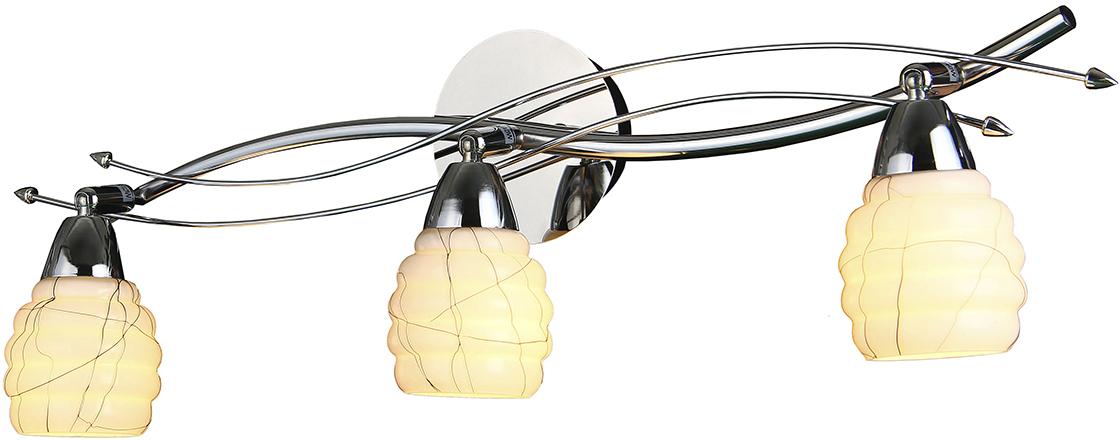 Потолочный светильник-спот Natali Kovaltseva, 3 х E14, 40W. 10756/3 CHROME