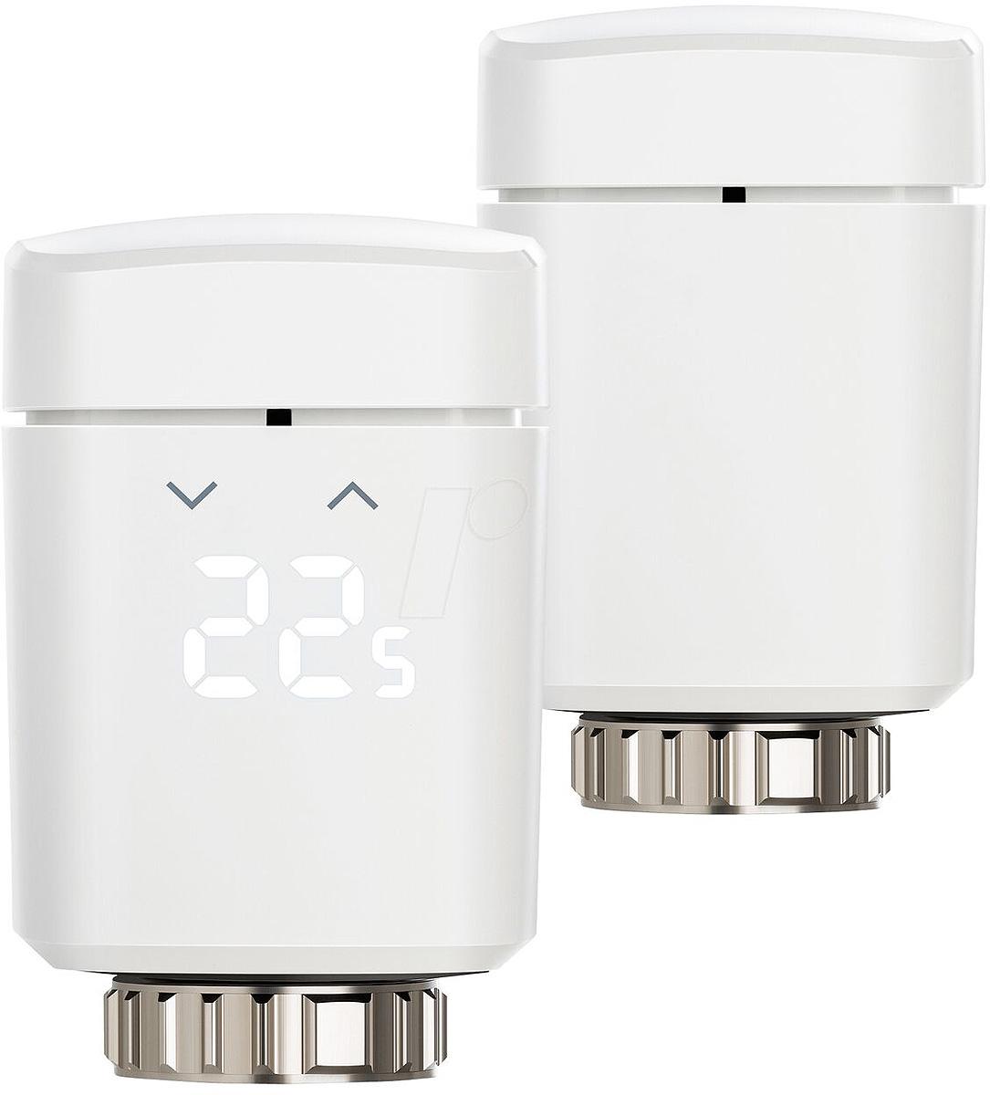 Elgato Eve Thermo 2017 набор термостатов для регулирования температуры комнатных радиаторов, 2 шт