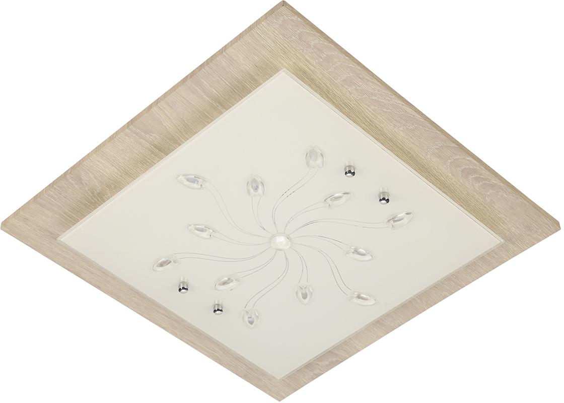Эмоциональная графичность коллекции Эко-тек от Natali Kovaltseva впишется в стиль Вашего дома с поистине королевским достоинством: сдержанно, уверенно, рационально. Светильники имеют идеальные пропорции и строгие лаконичные формы. При производстве этих светильников используют металл, окрашенный под дерево, и стекло высочайшего качества.Размеры: L40 x W40 x H9 cm