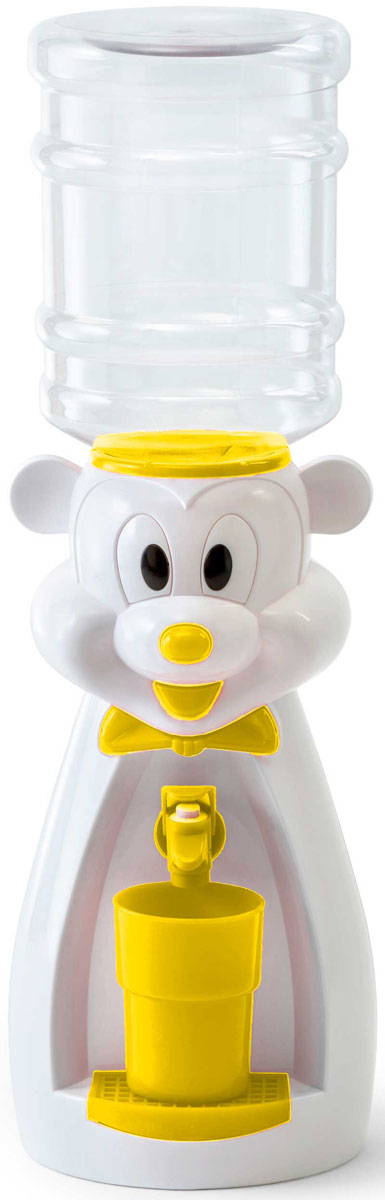 Vatten Kids Mouse, White Yellow кулер для воды (со стаканчиком)
