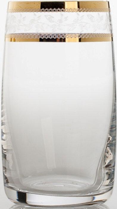 """Набор Crystalite Bohemia """"Идеал"""" состоит из 6 стаканов, изготовленных из высококачественного богемского  выдувного стекла. Стаканы данного набора декорированы в технологии """"травление"""" и отличаются классическим  дизайном.  Стаканы из богемского стекла - это высокое качество, неповторимый бриллиантовый блеск, легкость и  прозрачность, естественный плавный силуэт. Набор Crystalite Bohemia """"Идеал"""" станет отличным подарком вам и  вашим близким.  Богемское стекло - это дутое стекло, которое изготовляется в Чехии с незапамятных времен. Свое название это  стекло унаследовало от названия местности Богемия, в котором много лет назад проживали кельтские племена.  В Средние века монах Теофил придумал новую методику изготовления богемского стекла при помощи  добавления в состав буковой золы и кремниевого песка. В XV - XVI веках появляется цветное богемское стекло.  Стеклодувы получали различные оттенки материала путем добавления в состав различных минералов: фосфор,  золото, марганец, оксид железа, титан и д.р. Сегодня эта чешская продукция славится за соединение  многовековых традиций и новейших веяний в области дизайна. Богемское стекло и хрусталь всегда в моде."""