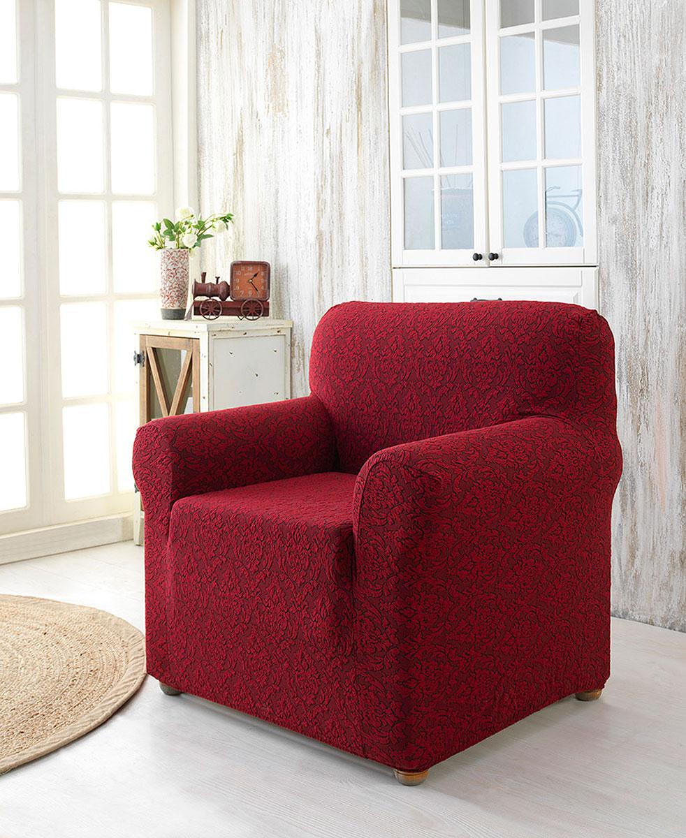 Особенности ткани: - элегантный орнамент жаккардовой ткани - эластичная ткань изделие может подойти для разных моделей мебели, благодаря гофрированной фактуре ткани.  - износостойкая, не деформируется (в том числе после стирки), не выцветает, не просвечивает, максимальная растяжимость, не требует глажки. В комплект входят фиксаторы, позволяющие надежно закрепить чехол на вашей мебели. Они вставляются в расстояние между спинкой и сиденьем, фиксируя чехол в одном положении, и не позволяют ему съезжать и терять форму. Фиксаторы особенно необходимы в том случае, если у вас кожаная мебель или мебель нестандартных габаритов.