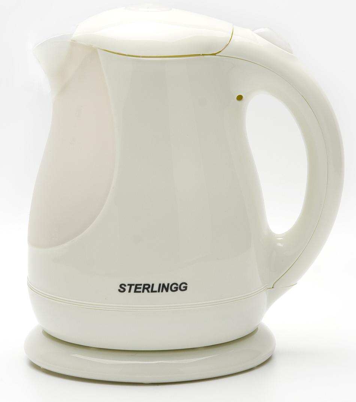 Sterlingg 10791 электрический чайник10791Быстро вскипятить воду или поддерживать ее горячей в течение долгого времени поможет чайник STERLINGG. На рынке бытовой техники этот прибор пользуется неизменной популярностью благодаря высокому качеству, безопасности и удобству в использовании. Чайник оснащен скрытым нагревательным элементом из нержавеющей стали, что очень удобно, так как он более долговечен, чем спираль, и не подвержен образованию накипи. Для безопасного использования в чайнике STERLINGG предусмотрены функции автоматического отключения при отсутствии воды или открытии крышки, а также встроенная защита от перегрева. Современный дизайн чайника, несомненно, порадует Вас и впишется в интерьер любой кухни!
