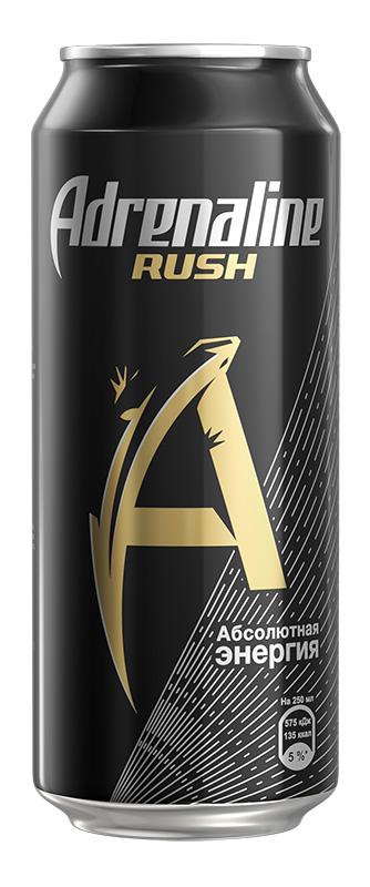 Adrenaline Rush энергетический напиток, 0,5 л