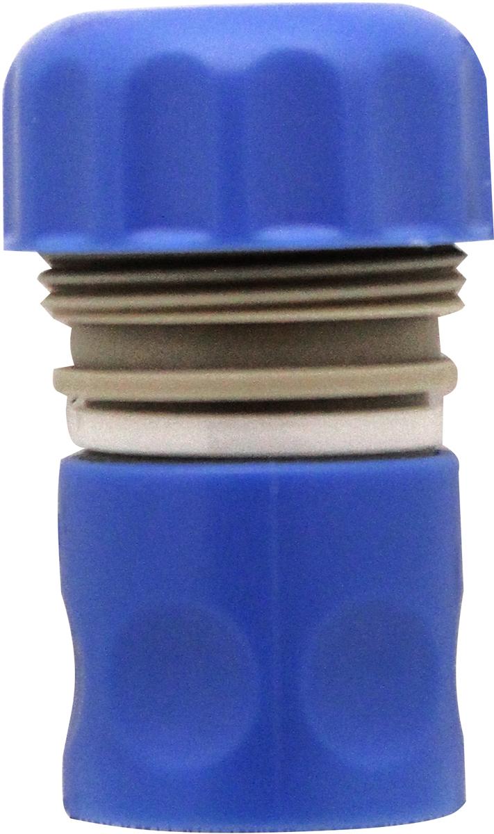Коннектор Frut, 3/4, с аквастопом402010Коннектор для шлангов, оснащенный системой аквастоп, предназначен дляпростого и прочного соединения пистолетов - распылителей иразбрызгивателей со шлангами диаметром 3/4 (19 мм). Изготовлен изударопрочного ABS пластика и высококачественного РР пластика. Системааквастоп позволяет перекрывать поток воды когда коннектор не подключен.Коннектор совместим со всеми устройствами для полива, оснащеннымисистемой быстрой фиксации. Размер: 3/4 Материал: пластик.