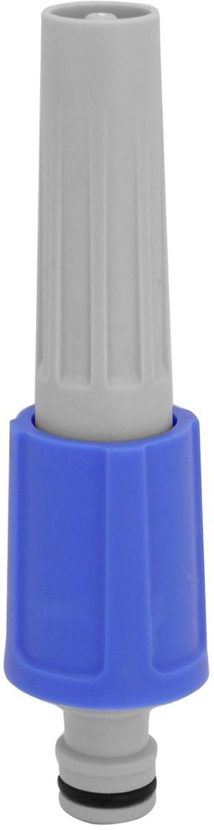 Регулируемая распыляющая насадка для полива FRUT простой и удобный  инструмент, предназначенный для полива растений, мойки автомобиля и окон,  очистки инструментов и дорожек в саду. Позволяет регулировать поток воды  от сильной струи до распыления. Выполнена из ударопрочного ABS пластика и  высококачественного РР пластика. Насадку можно подключить к шлангу с  помощью быстросъемного коннектора соответствующего размера.