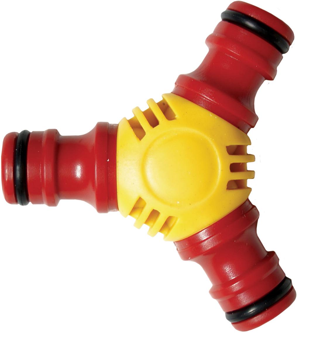 Тройник предназначен для разветвления шлангов. Используется совместно с коннекторами, соответствующими диаметру шланга. Материал: пластик.