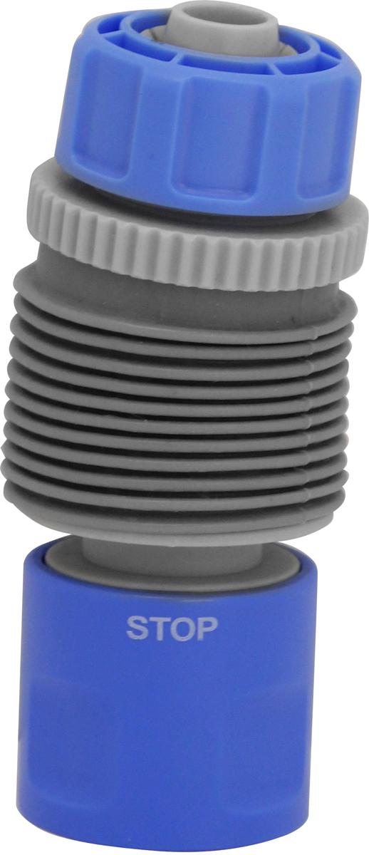 Коннектор для угловых соединений Frut, с аквастопом, поворотный, 1/2'' коннектор гибкий для шланга green apple gwfc120 024