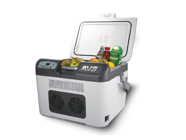 Холодильник автомобильный AVS CC-27WBC, 48 см x 38,5 см x 35 см автомобильный переходник 12 220 в