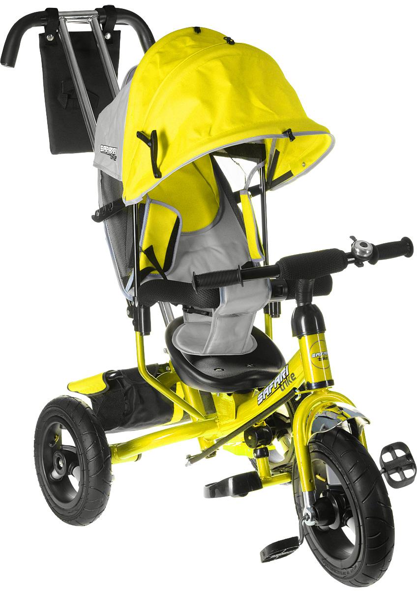 Safari Велосипед трехколесный GT9241 Trike цвет желтый - Велосипеды-каталки